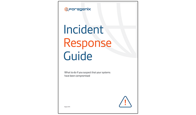Incident response guide