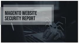 Magento Website Security Report