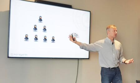 Andrew Henwood, CEO, talking at GBTA Cape Town Workshop, February 22nd 2018.