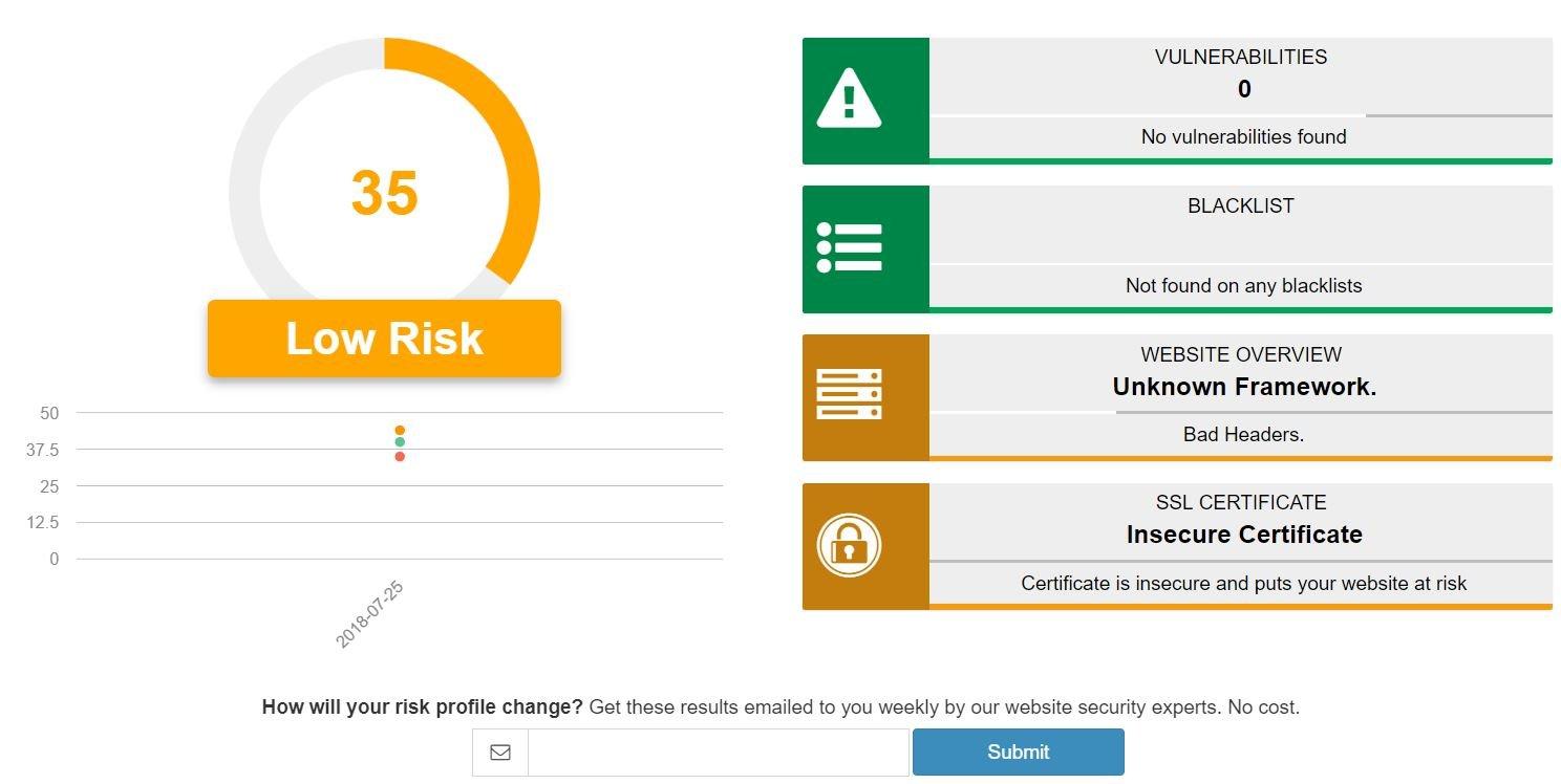 Foregenix malware scanner | Webscan