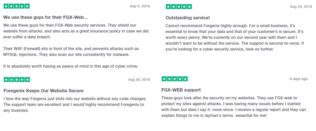 Foregenix-Website-Four_4_Reviews
