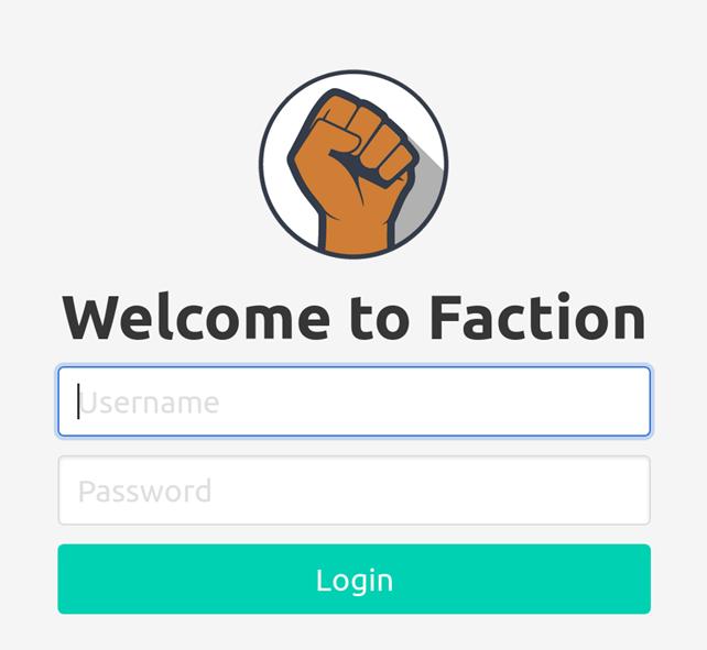Foregenix-Faction-Login