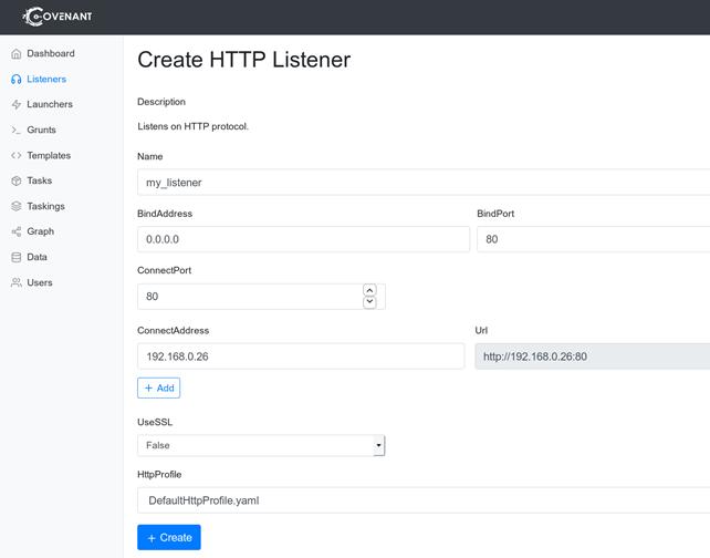 Foregenix-Covenant-HTTP_Listener